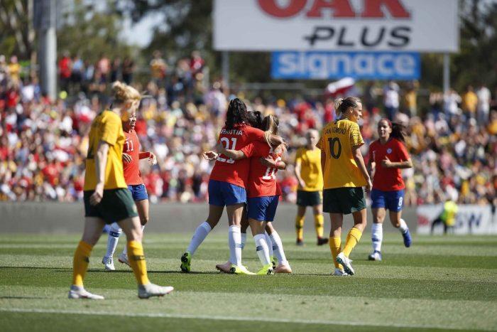 Triunfo histórico: la Roja femenina derrota a Australia, una de las mejores selecciones del mundo
