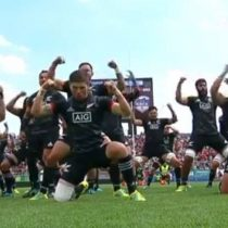 Los Maorí All Blacks realizan su tradicional