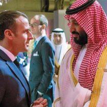 Otra más del G-20: el tenso cruce entre Emmanuel Macron y el príncipe saudita