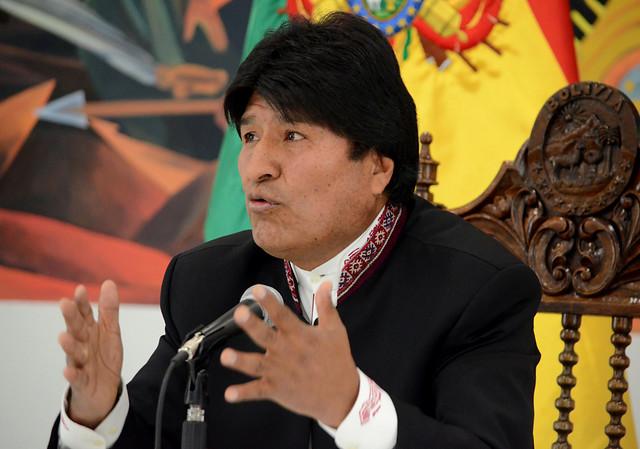 """Evo Morales: """"Chile, Brasil y Estados Unidos van a meter mucha plata a nuestros opositores para ganarnos"""""""