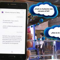 Asistente de Google para familias incorpora divertido juego de ciencias preparado por el MIM