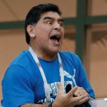 Maradona culpa al presidente Macri por los incidentes en el River-Boca