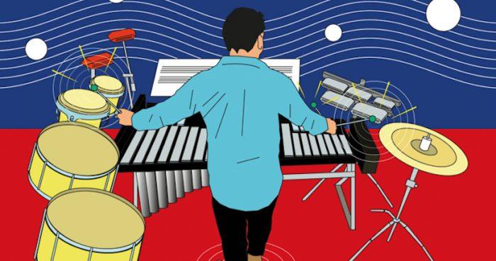 """Concierto gratuito """"Percusión Manifesto"""" en Teatro Aula Magna Usach"""