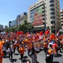 #ParoActivo: Con marcha y cacerolazos la CUT salió a la calle contra las políticas del Gobierno