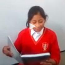 Estudiantes de Perú rinden homenaje a Camilo Catrillanca