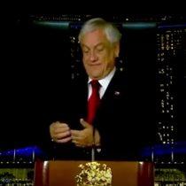 El momento en que a Sebastián Piñera le suena el teléfono durante una conferencia en Singapur