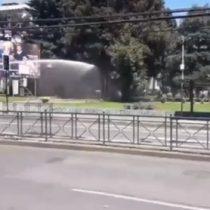 Incidentes dentro de la Universidad Católica de Temuco por la muerte de comunero mapuche Camilo Catrillanca