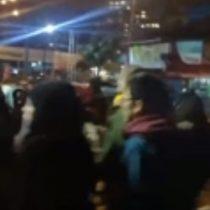 Así fue la concentración en Temuco luego de saber sobre la muerte de Camilo Catrillanca