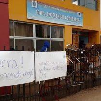 Liceo de Ercilla fue tomado por sus estudiantes en repudio a la muerte de Catrillanca