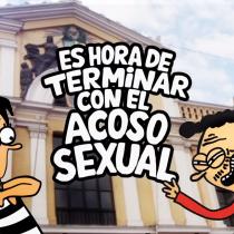 #LaChileDiceNo: Universidad de Chile lanza campaña contra la violencia de género