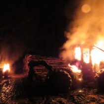 CAM se adjudica ataque incendiario en Curanilahue en repudio al crimen de Catrillanca