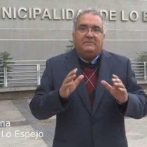 Concejal de lo Espejo en picada contra alcalde Bruna por nepotismo: