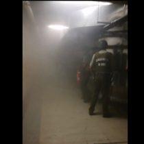 Registro revela cómo se lanzó gas lacrimógeno al interior del metro Baquedano en medio de las protestas por Catrillanca