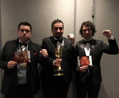 """Hernán Caffiero, ganador del Emmy: """"Mencionar a Catrillanca fue un mensaje para Chile y el mundo"""""""