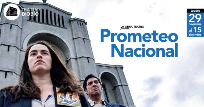 """Obra """"Prometeo nacional"""" en Teatro Biobío, Concepción"""