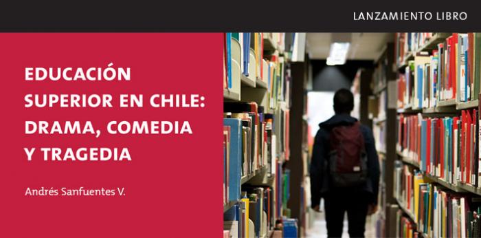 """Lanzamiento libro """"Educación Superior en Chile: drama, comedia y tragedia"""" de Andrés Sanfuentes V. en Edificio Telefónica"""