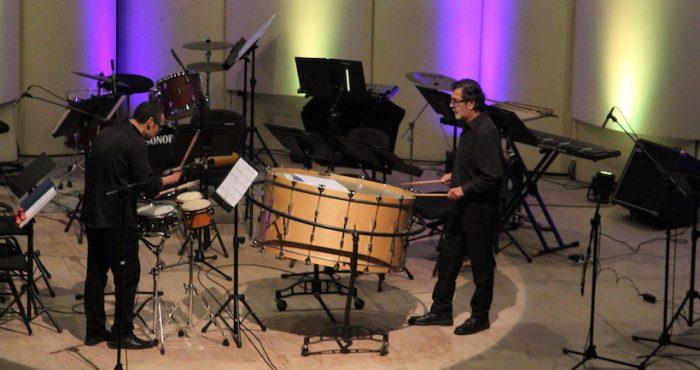 """""""Festival de Percusión"""" en Teatro Universidad de Concepción"""