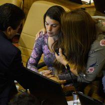 Maite Orsini se descompensa en plena sesión de la Cámara Baja