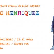 Álvaro Henríquez firma la re-edición de su disco solista en Punto Musical