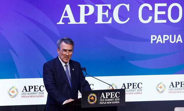 Jean Paul Luksic asume presidencia de la cumbre empresarial APEC 2019