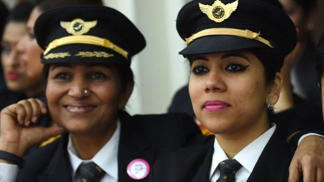 ¿Cuáles son las aerolíneas con más mujeres piloto en sus plantillas?