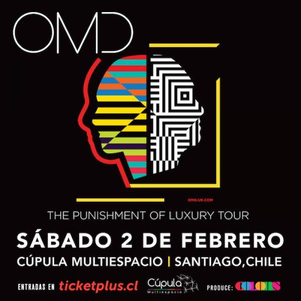 Comenzó venta de entradas para ver por primera vez a OMD en Chile