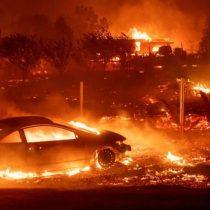 Las fuertes imágenes que dejó el paso del fuego por el pueblo de Paradise en California
