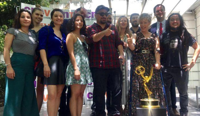 Consejo Nacional de Televisión recibe al equipo ganador del Emmy