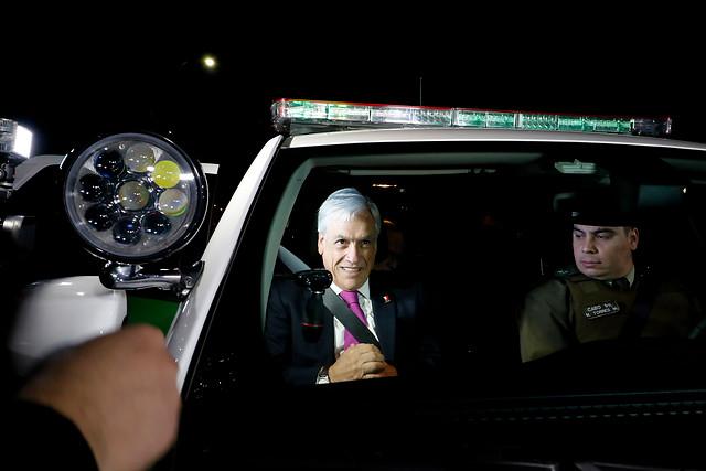 Mucho ruido pocas nueces: cifras revelan que las rondas policiales de Piñera no se traducen en nuevas detenciones