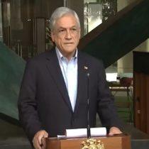 Piñera se acordó de dar condolencias por la muerte de Camilo Catrillanca