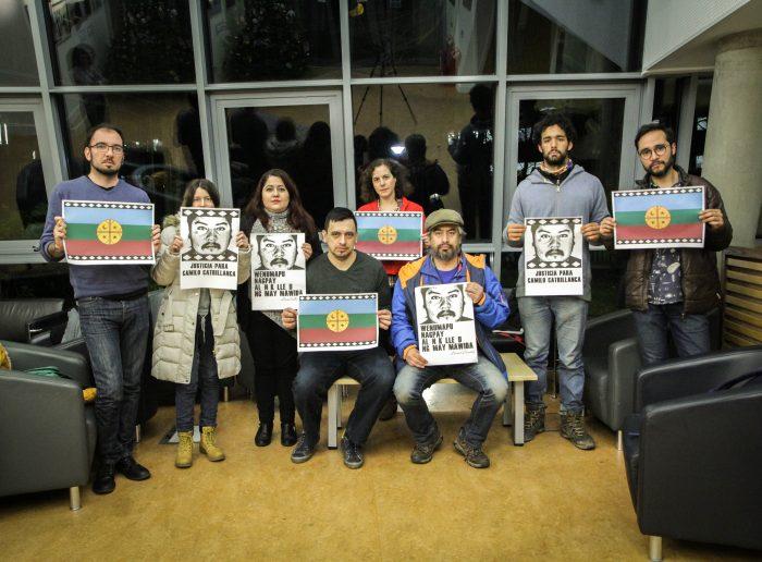 Chilenos en el extranjero en protesta por asesinato de Camilo Catrillanca