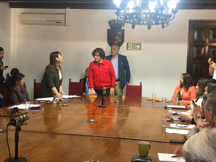 Concejo municipal elige a Francisco Duarte como alcalde subrogante de Quinta Normal