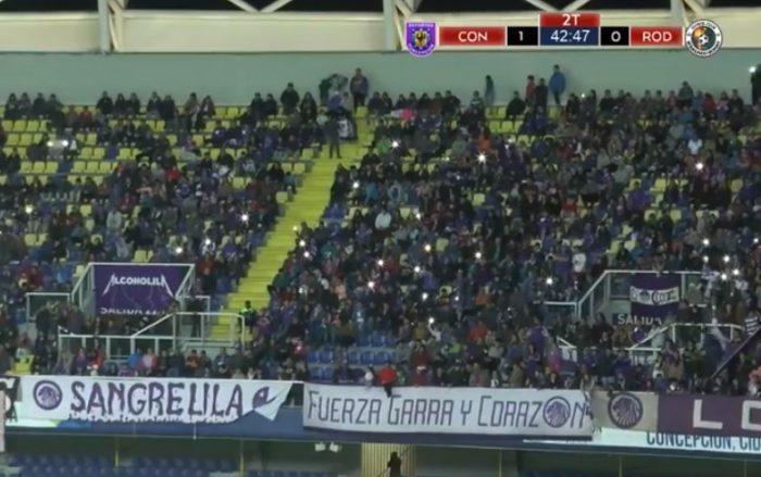 Histórica convocatoria en partido de Tercera B que enfrentó a Deportes Concepción con el club de Arturo Vidal