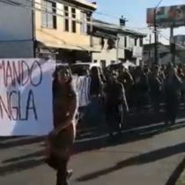 Marcha pidiendo la salida de Andrés Chadwick se tomó la ciudad de Temuco
