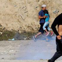 Caravana de migrantes en Tijuana: Estados Unidos utiliza gases lacrimógenos