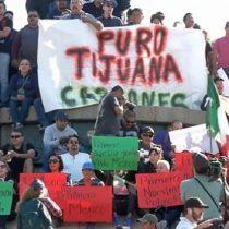 Caravana en Tijuana: