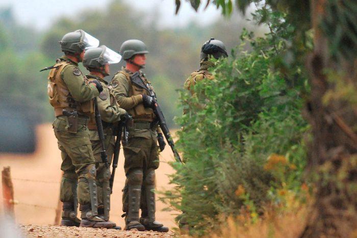 Ercilla: violentos enfrentamientos entre Carabineros y manifestantes tras muerte de Camilo Catrillanca