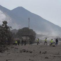 Erupción del Volcán de Fuego obliga a evacuar a 4.000 personas en Guatemala
