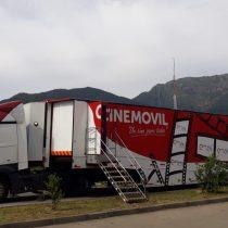 Ciclo de cine itinerante recorrerá siete comunas del país en moderna sala móvil