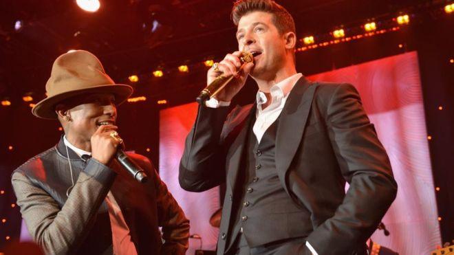 """""""Blurred lines"""": el plagio de la canción por el que Pharrell Williams y Robin Thicke tendrán que pagar US$5 millones a la familia de Marvin Gaye"""