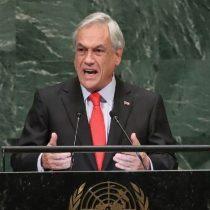 Cuando Piñera decía en Naciones Unidas que su política estaba