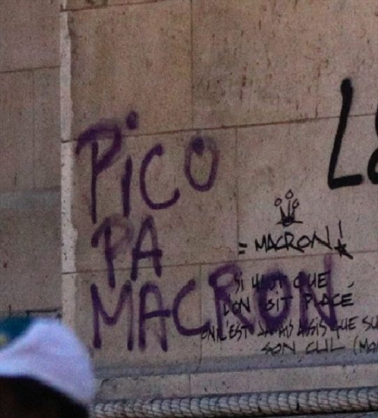 Chile se hace presente en protestas en Francia: desde