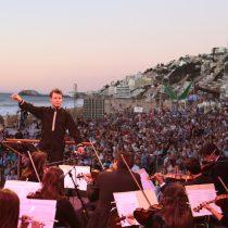 Concierto de Año Nuevo en la playa de Reñaca