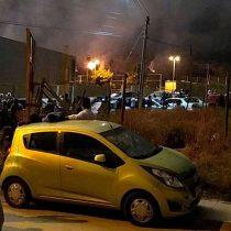 Show pirotécnico de Navidad termina provocando incendio forestal en cerro de Villa Alemana
