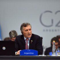 Macri anuncia que G20 ha logrado un acuerdo para