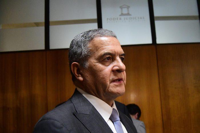 Ministro Carroza hará inspección en Comisaría de Los Andes tras solicitud del Gobierno de procesar a Bruno Villalobos