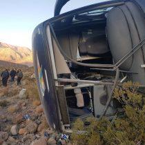 Chofer de bus que volcó en Mendoza será acusado por homicidio agravado culposo y arriesga hasta 6 años de cárcel