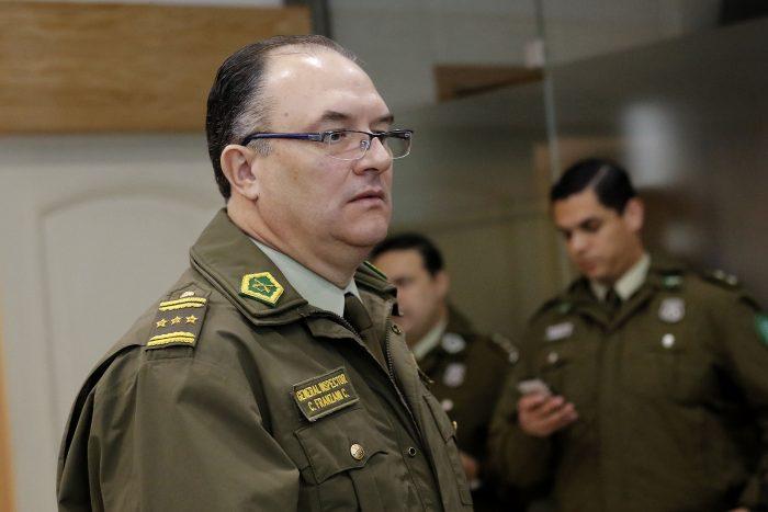 Huilcamán valoró decisión del Gobierno de pedir la renuncia al general Franzani:
