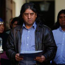 """Aucan Huilcaman pide revisar las condenas a mapuches """"sustentadas en un conjunto de mentiras tramadas por Carabineros"""""""