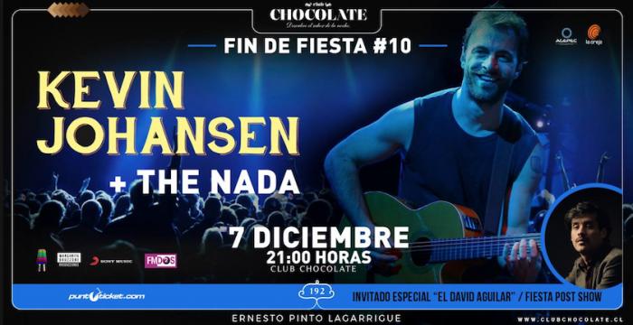 Kevin Johansen + The Nada en Club Chocolate